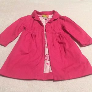 Penelope Mack girls pink coat size 3T